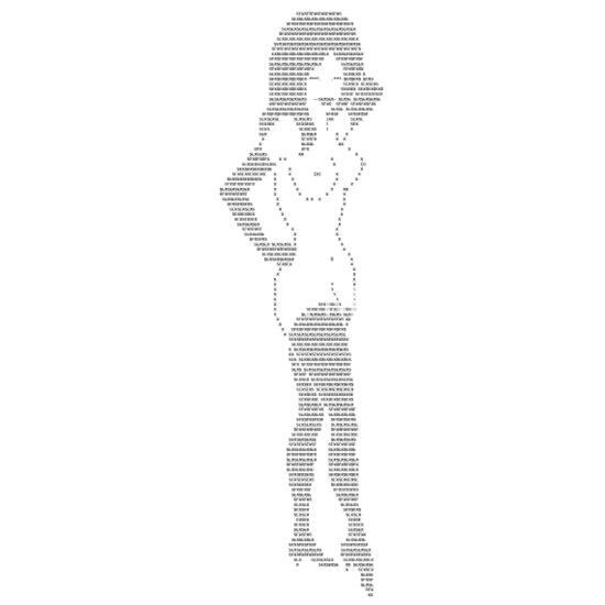 Ascii Art Girl