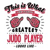 judo player worlds greatest looks like - Men's T-Shirt