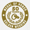 Medal Of Honor 50th GULD BRÖLLOP - T-shirt herr