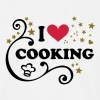 cooking. Chef's hat Cook chef - Men's T-Shirt
