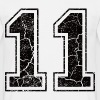 Number 11 in the used look - Men's T-Shirt