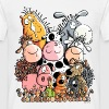 Funny Farm Animals - Men's T-Shirt