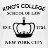 HAMILTON BROADWAY MUSICAL King's College School... - Men's T-Shirt