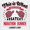 marathon runner worlds greatest looks li - Men's T-Shirt