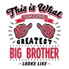 big brother worlds greatest looks like - Men's T-Shirt