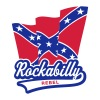 Rockabilly Rebel Flag - Men's T-Shirt