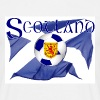 scotland saltire lion national football flag - Men's T-Shirt