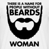 People Without Beards - Mannen T-shirt