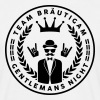 Team Bräutigam - Gentlemans night - JGA Crew - Männer T-Shirt