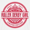 Limited edition roller derby girl premiu - Men's T-Shirt