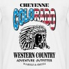 Colorado Indian Chief Shirt Design - Men's T-Shirt
