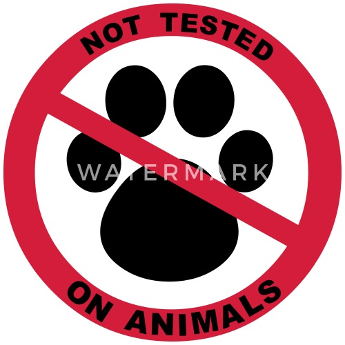 Not Tested On Animals Symbol By Fluffylikerazors Spreadshirt