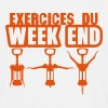 exercices week end tire bouchon gym 1912 - T-shirt Homme