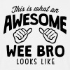 awesome wee bro looks like - Men's T-Shirt