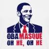obamasque oh he president obama provoc2 - T-shirt Homme
