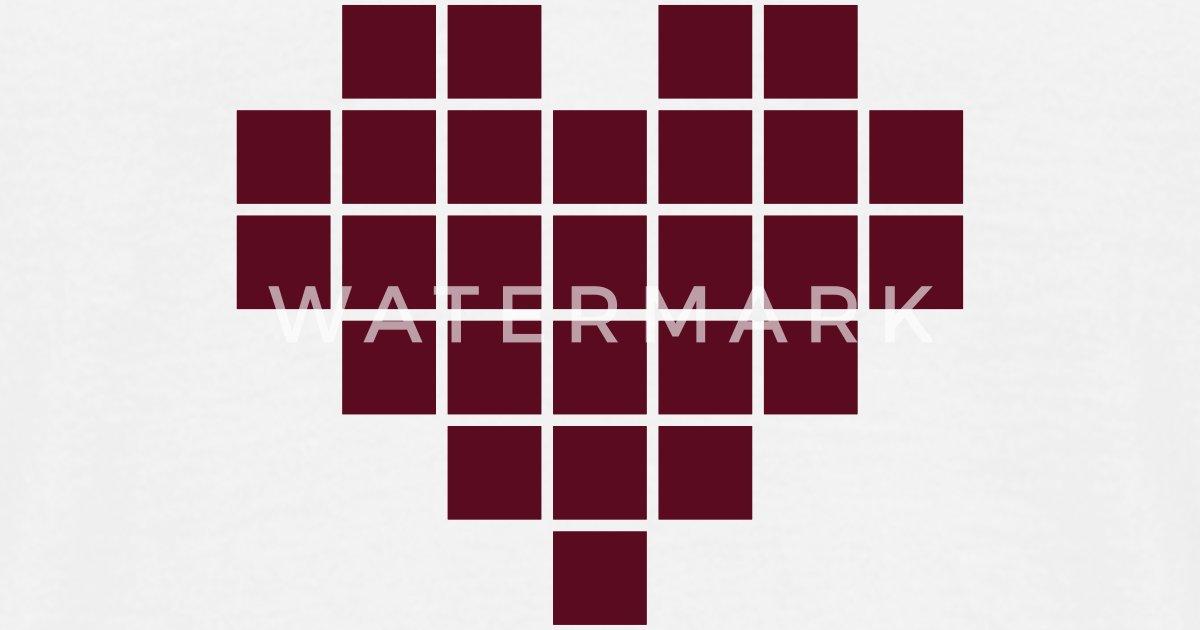 Pixel Heart by industriekombinat   Spreadshirt