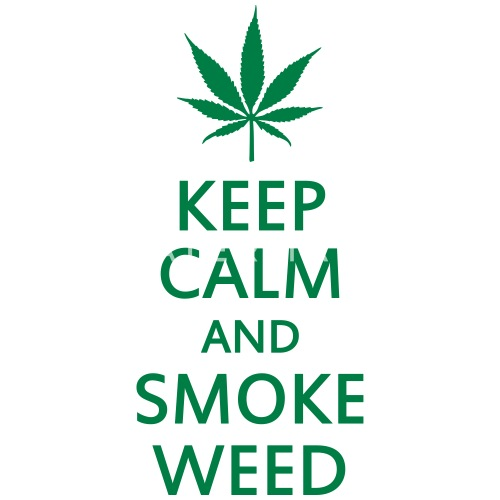 Keep Calm And Smoke Weed By Nowhereman78