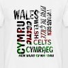 Wales, Welsh and proud - Men's T-Shirt