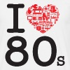 I love 80's - T-shirt Homme