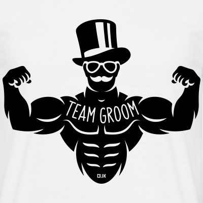 Team Groom (Stag Night / Bachelor Party / Tattoo) - Men's T-Shirt