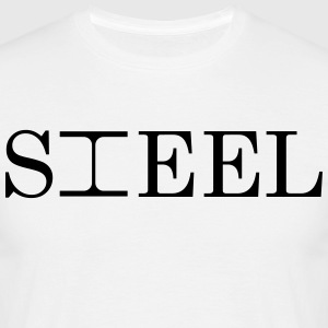 STEEL - Mannen T-shirt