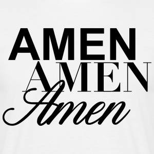 amen - T-shirt herr