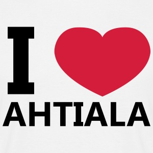 I Love Ahtiala - Men's T-Shirt