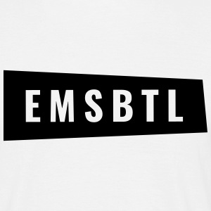 Eimsbüttel - EMSBTL in oblique box - Men's T-Shirt