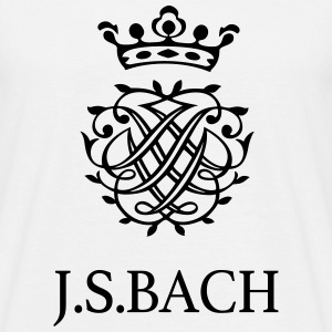 J S Bach and his Seal - Men's T-Shirt