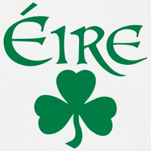 Eire Shamrock Ireland logo - Men's T-Shirt