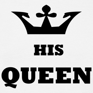His_Queen King and Queen - Männer T-Shirt