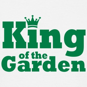 King of the Garden - T-skjorte for menn