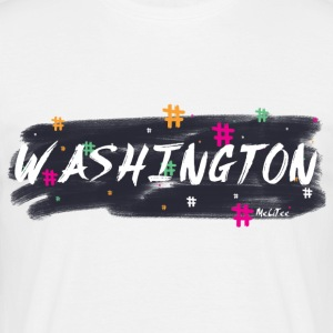 Washington #1 - Men's T-Shirt