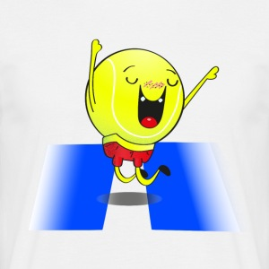 The dancing tennis ball! - Men's T-Shirt