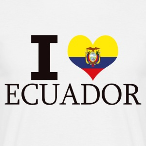 I LOVE ECUADOR - Men's T-Shirt