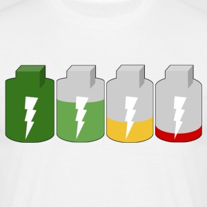 battery - Men's T-Shirt