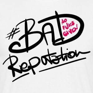 Bad Reputation - W - Mannen T-shirt