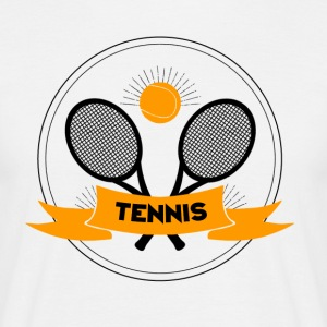 Tennis Logo - Men's T-Shirt
