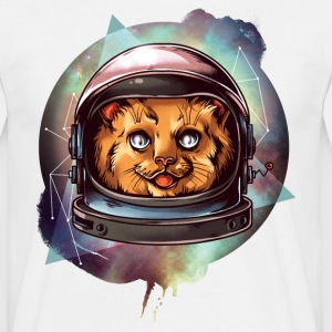 CAT DRAWN COMIC DIERTENTE - T-shirt herr