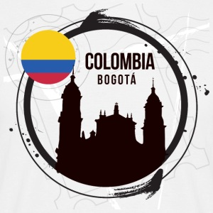 Bogota Colombia - Herre-T-shirt