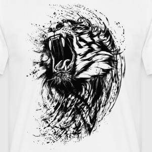 Lion Raw - Men's T-Shirt