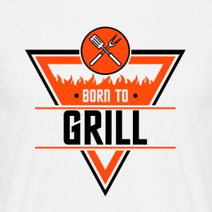 Born to Grill - T-skjorte for menn