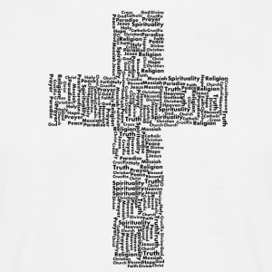 Religion cross - Men's T-Shirt