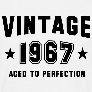 VINTAGE 1967 - Birthday - Aged To Perfection