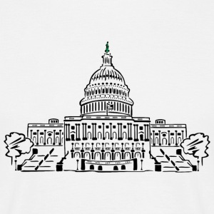 Capitol Washington - Männer T-Shirt