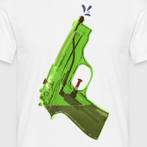Green water pistol - Men's T-Shirt