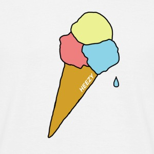 icecream - Mannen T-shirt