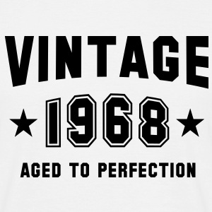 VINTAGE 1968 - Birthday - Aged To Perfection