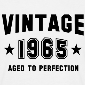VINTAGE 1965 - Birthday - Aged To Perfection