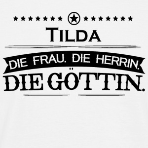 birthday goettin tilda - Men's T-Shirt